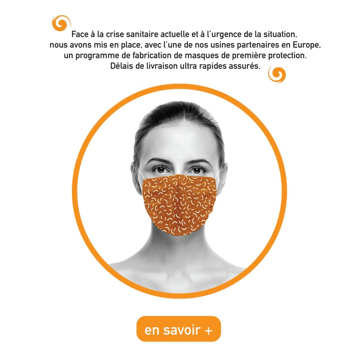 Masques de protection Coronavirus
